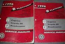 free auto repair manuals 1996 chevrolet caprice parking system 1996 chevy impala caprice buick roadmaster service shop repair manual set oem 96 ebay
