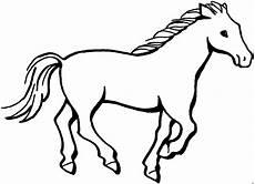 Malvorlagen Gratis Tiere Gallopierendes Pferd Ausmalbild Malvorlage Tiere