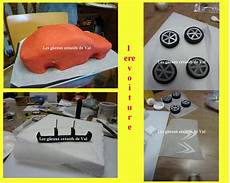voiture g 226 teau 3d en p 226 te 224 sucre les gateaux creatifs