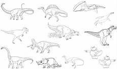 Dinosaurier Arten Ausmalbilder Dinosaurier Bilder Mit Namen Zum Ausdrucken