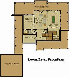 waterfront house plans walkout basement 3 bedroom open floor plan with wraparound porch and