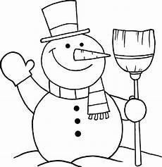 snowman coloring pages free on clipartmag