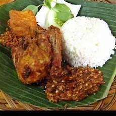 Gambar Nasi Ayam Goreng Gambar Hitam Hd
