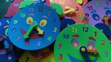 reloj didactico foami educativo 15 00 en mercado libre