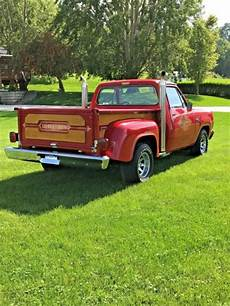 1978 1979 dodge d150 6ft 1978 dodge d150 lil red express pick up truck lil little red express for sale photos