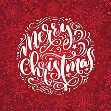 merry christmas calligraphy vector text lettering design background creative typography