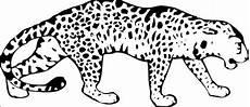 Kostenlose Malvorlage Gepard Leopard Malvorlage Kostenloses Ausmalbild