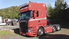 Scania R730 Lkw Truck With 730hp V8 Engine In Hd