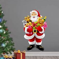 cadeau pere noel sticker no 235 l le p 232 re no 235 l apporte les cadeaux stickers