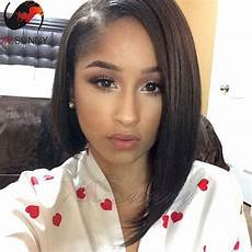 haircut short on one side long on the other one side long brazilian virgin hair lace front human hair wigs bob short wigs human hair