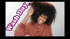 my natural hair wash day after the weave youtube