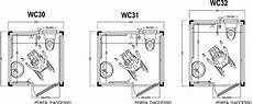 misure bagno disabili locali pubblici wc prefabbricati per disabili tecnica