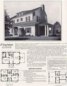 dutch colonial revival house plans 1922 virginian by bennett homes dutch colonial revival