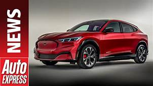 New 2020 Ford Mustang Mach E  Meet Fords Jaguar I Pace
