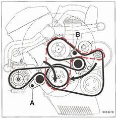 Bmw E46 Engine Drive Belt Diagram by Couldn T Replace Tensioner Pulley I Feel Dumb