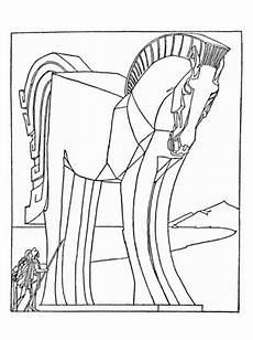 trojan coloring page favecrafts