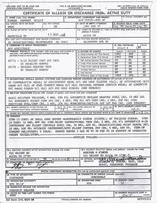 dd form 214 jeff finger page 1 of 2
