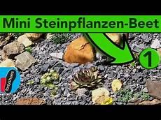 kleinen steingarten anlegen miniatur steingarten anlegen do it yourself