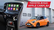 apple carplay in the toyota aygo now available in the x