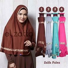 Es 0004 Kerudung Model Jilbab Terbaru Bergo Elzatta Zalfa