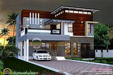 kerala contemporary house plans modern contemporary house kerala home design and floor