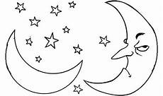 angry moon coloring pages
