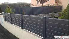 Pose Cloture Sur Muret Avis Et Photos Des Clotures En Aluminium La Cloture Alu