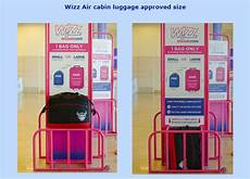 wizzair large cabin bag wizz air introduces new cabin luggage policy