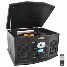 cd cassette player pylehome ptcds7uib home and office turntables