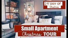 Wohnung Weihnachtlich Dekorieren - small apartment decorating tour 24th day of