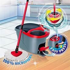 wischmop vileda vileda easy wring clean wischmop set 4 tlg mikrofaser