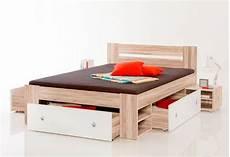 slide futonbett doppelbett schlafzimmer stauraum bett