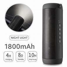 Portable Light Bluetooth Speaker Bass by T2 Waterproof Portable Bluetooth Speaker With Bass Led