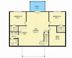 house plans for sloping lots in the rear plan 68486vr mountain ranch for the rear sloping lot in