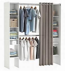 Kleiderschrank Offen Selber Bauen - bescheiden kleiderschrank mit vorhang am besten selber