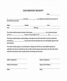 car receipt car payment receipts 9 exles in word pdf