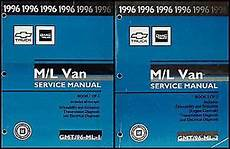 free service manuals online 1996 chevrolet astro free book repair manuals 1996 chevy astro and gmc safari van shop manual set 96 chevrolet repair service ebay