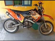 Supermoto Keren by Modifikasi Scorpio Jadi Supermoto Kawasaki Klx 250