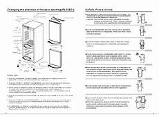 samsung refrigerator manual service repair and owners manual