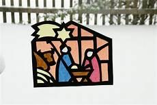 Fensterbilder Vorlagen Weihnachten Krippe Schablone Fensterbilder Weihnachten Transparentpapier Vorlagen