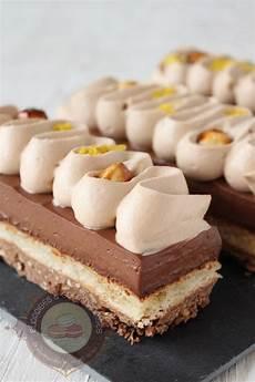Gateau Chocolat Croustillant Praliné Croustillant Pralin 233 Dacquoise Noisette Cr 233 Meux Chocolat