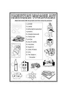 english teaching worksheets hanukkah kindies