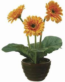 13 Quot Gerbera In Pot Artificial Kremp
