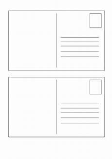postcard address template word 40 great postcard templates designs word pdf ᐅ