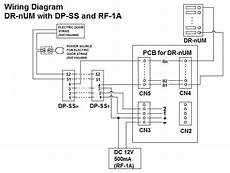 Commax Intercom 4 Buttons Audio Door Panel For Apartments