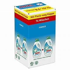 Eingetrocknete Farbe Aus Kleidung Entfernen - ariel mit febreze vollwaschmittel fl 252 ssig 1er pack 1 x 74
