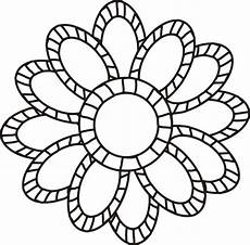 large flowers coloring pages to and print for free