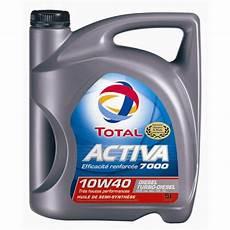 huile de voiture huile moteur total activa 7000 10w40 diesel 5 l norauto fr