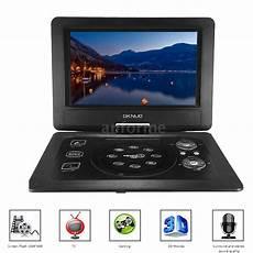 10 1 quot inch tft lcd portable dvd cd player mp3 tv av sd usb