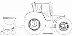traktor mit anh 228 nger gratis ausmalbild